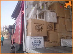 خدمات حمل اثاثیه منزل