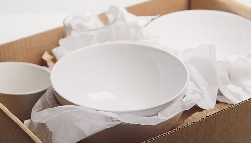 بسته بندی ظروف شکستنی ،حواستان به این لوازم ظریف باشد!