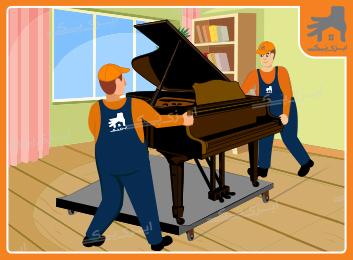 چگونه یک پیانوی دیواری را حرکت دهیم؟