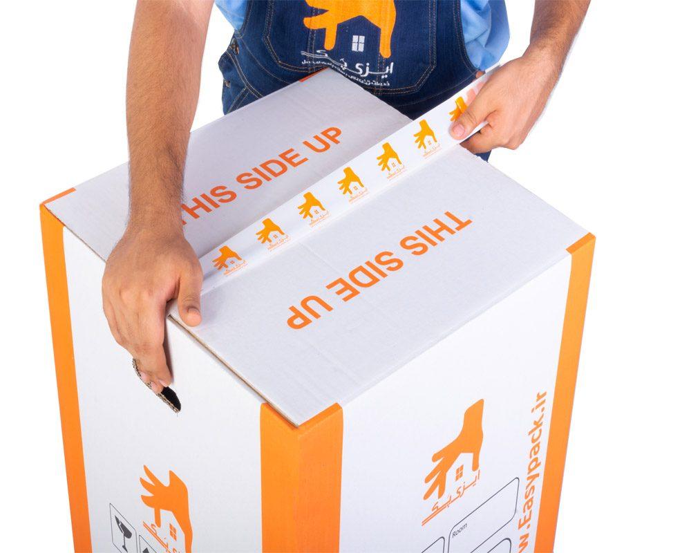 چسب پهن بسته بندی ایزی پک