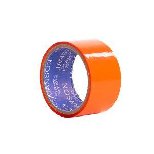 چسب پهن بسته بندی رنگ نارنجی