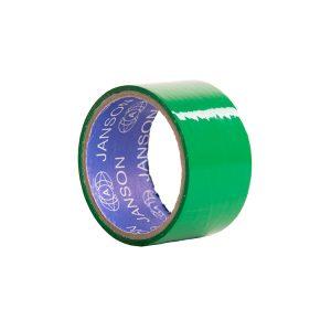 چسب پهن رنگی سبز
