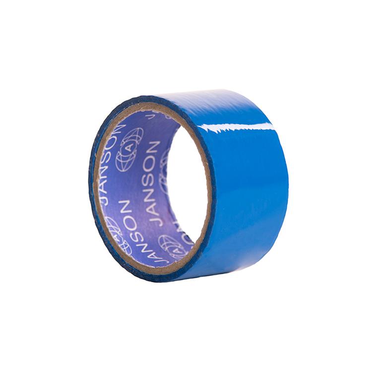 چسب پهن بسته بندی رنگ آبی