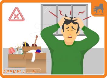 کاهش استرس در اسباب کشی