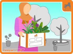 حمل و نقل گل و گیاه