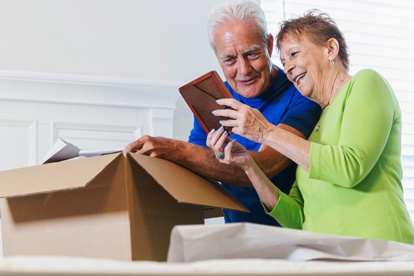 اسباب کشی برای سالمندان