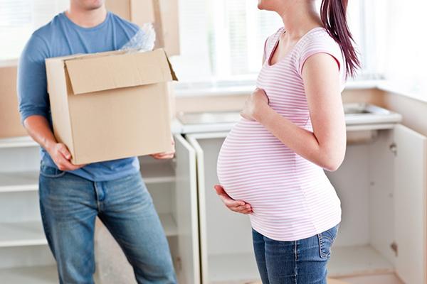اسباب کشی هنگام بارداری