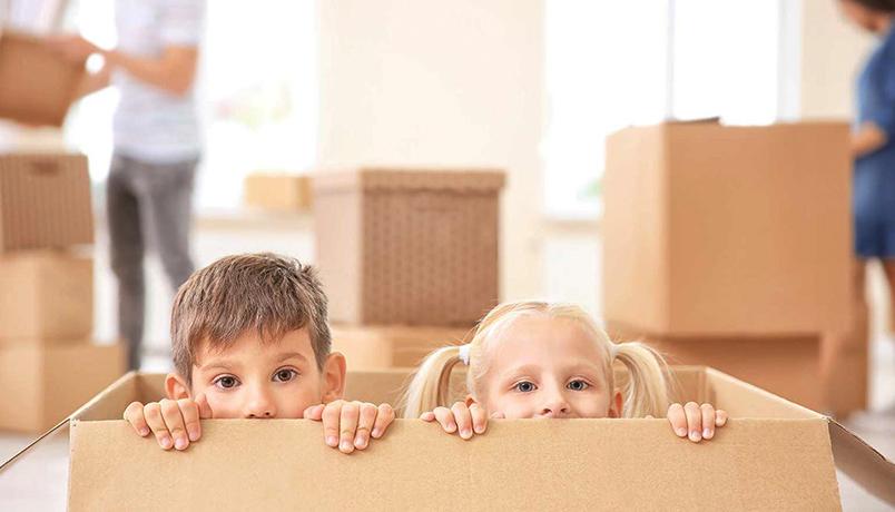 وقف دادن کودکان با خانه جدید ،به فرزندتان روحیه دهید!