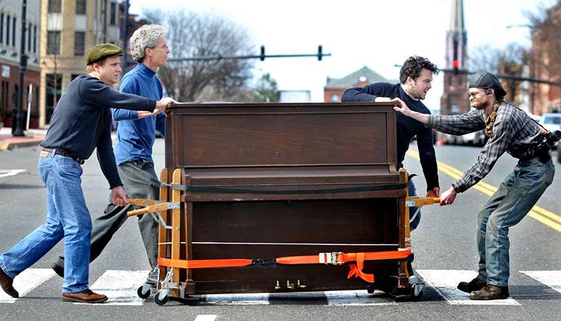 حمل تخصصی پیانو ،چگونه پیانو خود را جابهجا کنیم؟؟؟