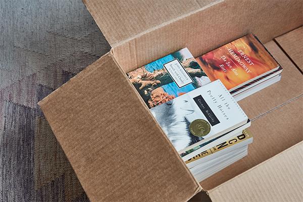 نحوه بسته بندی کتاب در اسباب کشی