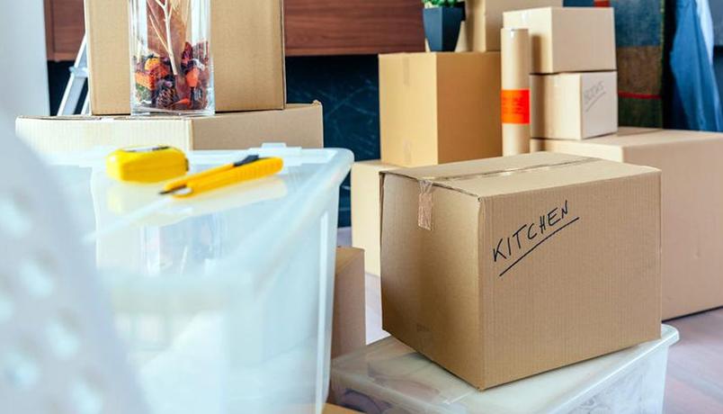 نحوه بسته بندی آشپزخانه ،جمع کن و جابجا شو!